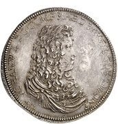 2 Thaler - Johann Wilhelm II. – obverse