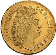 4 Ducat - Johann Wilhelm II. (Death) – obverse