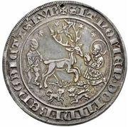 1 Guldengroschen - Johann III – reverse