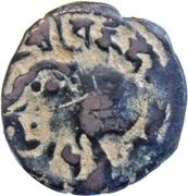 "Jital - ""Bronze"" - Vakka Deva - Shahis of Ohind - 750-1000 AD – obverse"