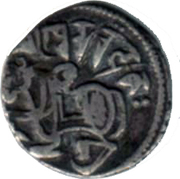 "Jital - King Kamaluka ""Khudarayaka"" - Shahi Kingdom of Gandhara and Kabul - 895-921 AD – obverse"
