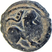 "Jital - ""Bronze"" - Vakka Deva - Shahis of Ohind - 750-1000 AD – reverse"