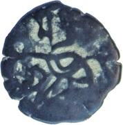 ½ Jital - Samanta Deva (Shahis of Ohind) – obverse