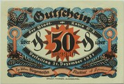 50 Pfennig (Christmas Series) -  obverse