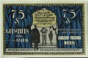 75 Pfennig (Notgeld Exhibition 1921) – obverse
