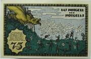 75 Pfennig (Notgeld Exhibition 1921) – reverse