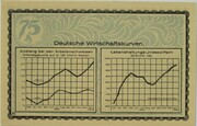 75 Pfennig (Economics Series - B) – reverse