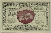 75 Pfennig (Leuchtenburg - Issue 2C: Wachsenburg) – reverse