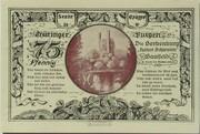 75 Pfennig (Leuchtenburg - Issue 2E: Hoher Schwarm) – reverse