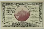 75 Pfennig (Leuchtenburg - Issue 2F: Leuchtenburg) – reverse