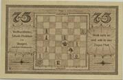 75 Pfennig (Schachklub Kahla - Issue 3) – reverse