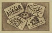 75 Pfennig (Schachklub Kahla - Issue 6) – reverse
