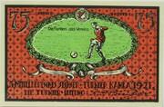75 Pfennig (Sportverein Kahla - B1) – reverse