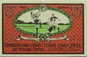 75 Pfennig (Sportverein Kahla - B2) – reverse