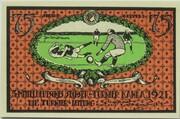 75 Pfennig (Sportverein Kahla - B3) – reverse