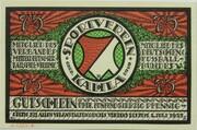 75 Pfennig (Sportverein Kahla - B5) – obverse
