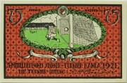 75 Pfennig (Sportverein Kahla - B5) – reverse