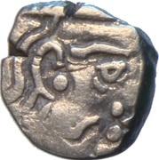 Drachm - Krishnaraja (Kalachuris of Mahismati) – obverse