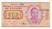 """10 Francs """"Moise Tshombé"""" – obverse"""