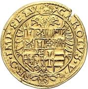 1 Krone (Goldkrone) – reverse