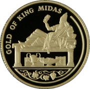 100 Tenge (Gold of King Midas) – reverse