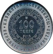 100 Tenge (Kokbori) – obverse