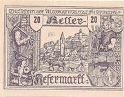 20 Heller (Kefermarkt) -  obverse