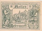 50 Heller (Kefermarkt) -  obverse