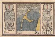 1 Mark (Allgemeine Spar- und Leihkasse der Insel Sylt) – obverse