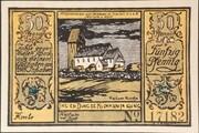 50 Pfennig (Allgemeine Spar- und Leihkasse der Insel Sylt) – obverse