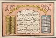 50 Pfennig (Allgemeine Spar- und Leihkasse der Insel Sylt) – reverse