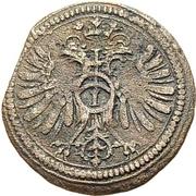 1 Kreuzer - Johann Eucharius von Wolffurt (Kipper) – reverse