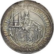 1 Thaler - Johann Eucharius von Wolffurt – obverse