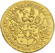 1 Ducat - Rupert II. von Bodman – obverse