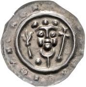 1 Hildegard Brakteat - Heinrich III. – obverse