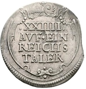 1/24 Thaler – reverse