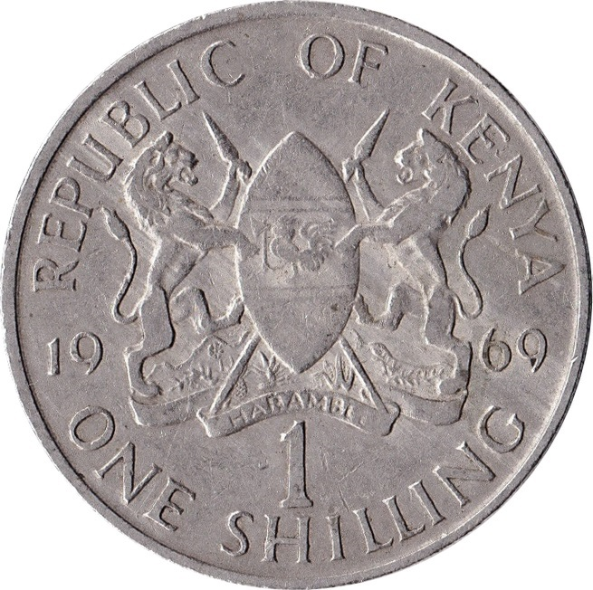 1 Shilling With Legend