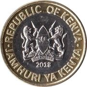10 Shillings (Lion) – obverse