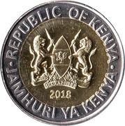 20 Shillings (Elephant) – obverse