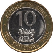 10 Shillings (Magnetic) – obverse