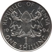 1 Shilling (magnetic) – obverse