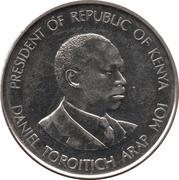 1 Shilling (magnetic) – reverse