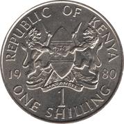 1 Shilling (non-magnetic) – obverse