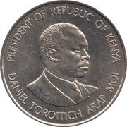 1 Shilling (non-magnetic) – reverse