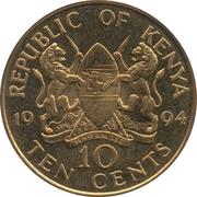 10 Cents – obverse