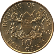 10 Cents -  obverse