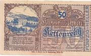 50 Heller (Kettenreith) – obverse