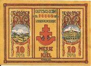 10 Pfennig (Nordische Messe) – obverse