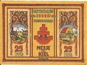 25 Pfennig (Nordische Messe) – obverse