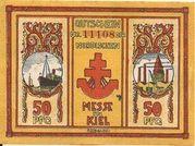 50 Pfennig (Nordische Messe) – obverse